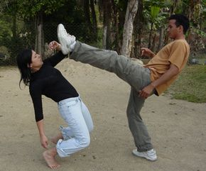 Stuntmen are trained to hit without causing any damage.