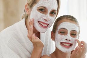 Getting Beautiful Skin Image Gallery Is your child too young for a facial or a manicure? Find out. See more pictures of getting beautiful skin.