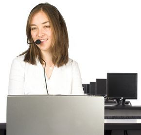 Many businesses use video Web conferencing to provide support services for customers.
