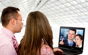 Companies are increasingly reying on video Web conferencing for presentations and meetings.