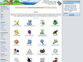 There are many different games available to Subeta site members.
