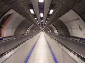 A finished subway tunnel