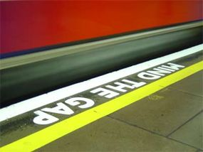 Subways, along with the signs and warnings associated with them, have become part of popular culture in many cities.