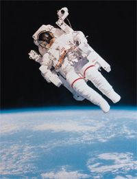 Astronauts need a space