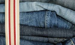 Adding a canvas belt in solid colors, stripes or patterns changes the look of jeans or shorts, and can add pops of color to an otherwise neutral outfit.