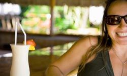 Sipping a pina colada at a beach resort sounds perfect -- just don't think about the 625 calories you've just ingested!