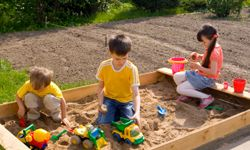 Sandboxes have been keeping kids entertained for ages.