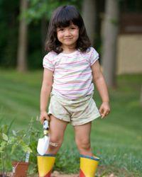 Gardening is always a popular kid activity.