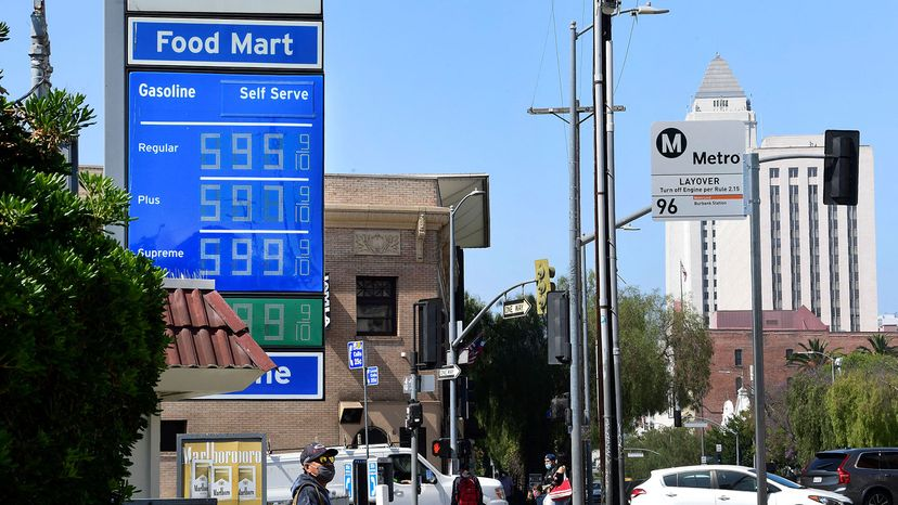 gas prices in Los Angeles