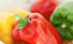 More than just a pretty face: Bell peppers contain loads of beneficial nutrients in addition to colorful pigment.