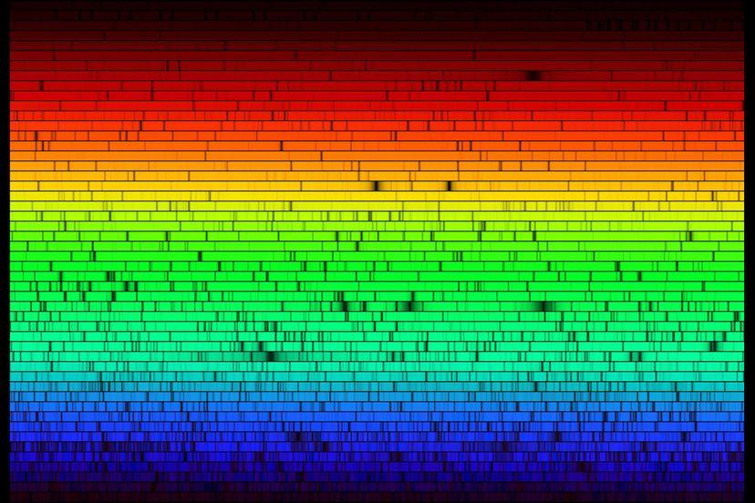 Sun spectra