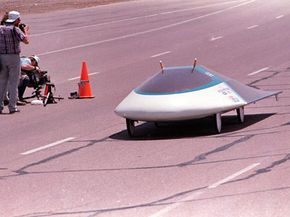 The solar-powered Sunraycer by General Motors. See more AFV pictures.