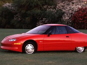 General Motors' EV-1 electric car.