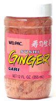 Pickled ginger, or gari