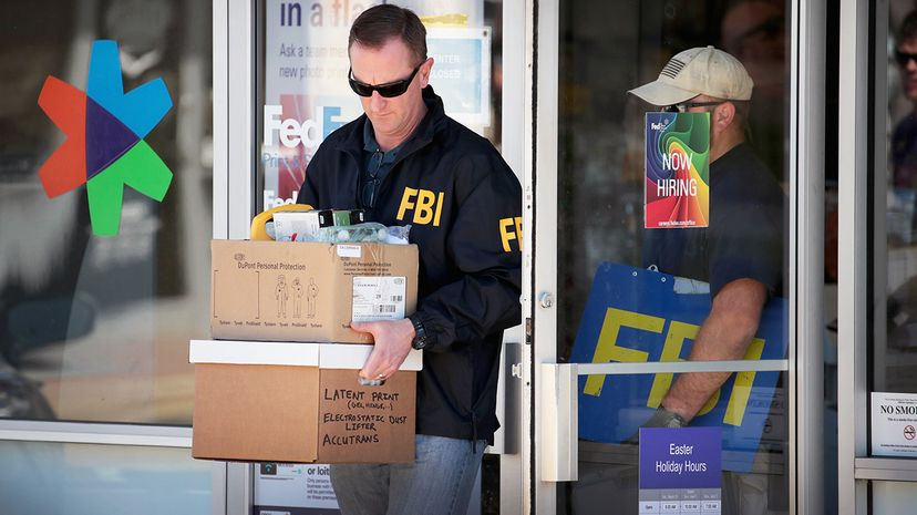 suspicious package bombings