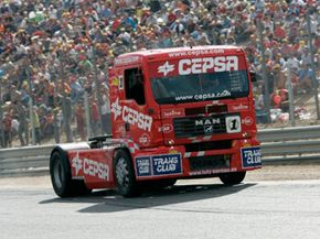 Will American race fans embrace super truck racing? See more truck pictures.