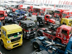 A full grid at the Nürburgring