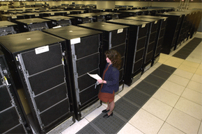 """Many machines have garnered the title of """"fastest supercomputer in the world"""" over the years. The U.S. Department of Energy's ASCI White computer claimed the crown in 2000."""