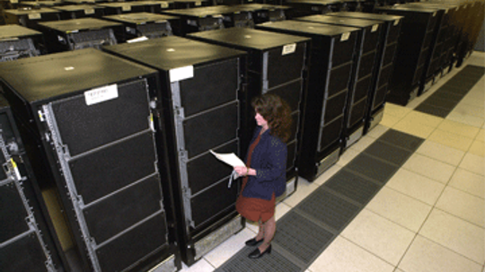 What are supercomputers currently used for?