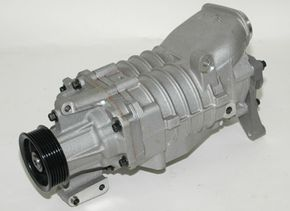 Turbo Image Gallery Superchargers pressurize air intake to above atmospheric pressure. How is this different from what a turbocharger does? See more turbo pictures.