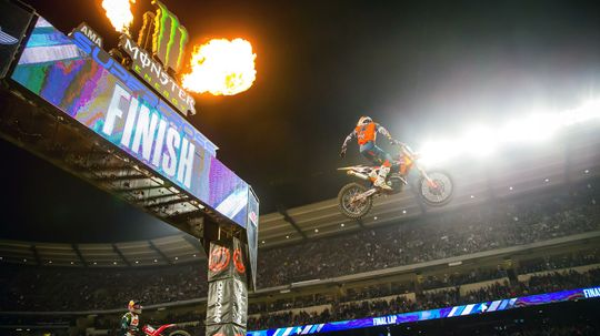 Behind the Scenes at Supercross