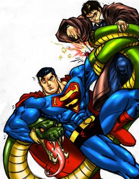 Would Harry Potter use an Unforgivable Curse to wipe out Superman?