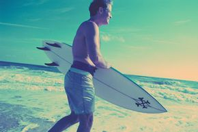 Changes in surfboard material changed the sport dramatically.