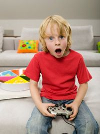 Will he grow up to be a surgeon? Not necessarily, but a moderate amount of video gaming won't hurt.