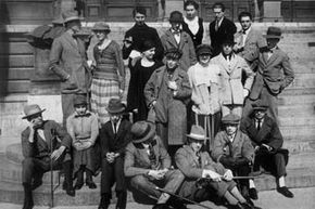 Many of the Dadaists pictured here influenced Surrealism or would later become Surrealists themselves.