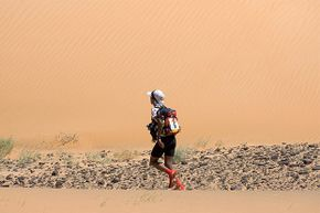 The Marathon des Sables is a six-day, 155-mile endurance race through the Sahara. When Mauro Prosperi (not pictured) first ran it in 1994, just 80 people participated. Now, he says, with more than a thousand racers, it's impossible to get lost.