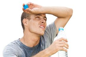 Be sure to stay hydrated as you sweat. See more men's health pictures.