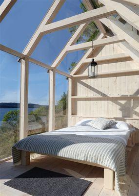 swedish cabin, sweden