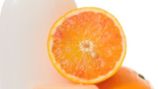 How does Sweet Orange work in skin cleansers?