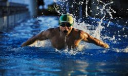 Once you start swimming regularly, it won't take you long to go from flabby to fit.