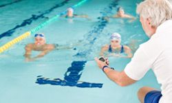 Swimming is a strenuous activity that will make you more heart-healthy.