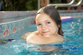 Even if your children knows how to swim, they still need supervision in and around the pool.
