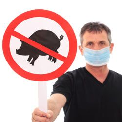Anti-pig and anti-swine flu are not the same thing. Get health tips with staying healthy pictures.