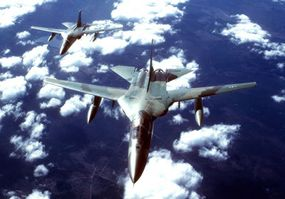 """The FB-111A strategic bomber never had an official name, but it was commonly called the """"Switchblade."""""""