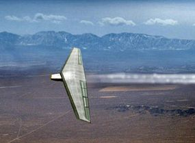 The Switchblade flying at low speed will have long range and endurance capabilities.