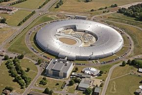 The Diamond synchrotron's powerful light source could be used on a variety of scientific projects, including deciphering ancient manuscripts.