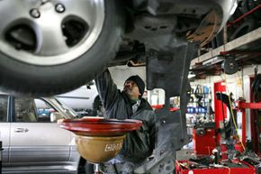 If you don't mind the hit to your pocketbook, you may want to ask your mechanic to upgrade your oil to synthetic.