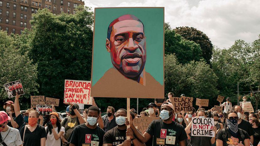 protest against George Floyd