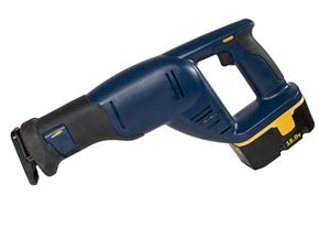 The saber saw can make smooth contour cuts with or across the grain.