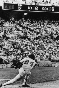 You can use sabermetrics to see how some of today's stars measure up to all-time greats like Willie Mays.