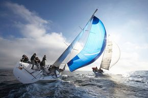 The crew members of a racing yacht are sure to know the five basics of sailing.