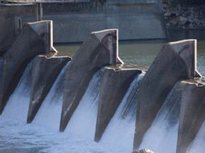Without modifications, hydropower dams block salmon from accessing vital habitats.