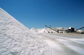 Andy Satiriou/Photodisc/Getty Images                              A salt-refining plant near Murcia, Spain