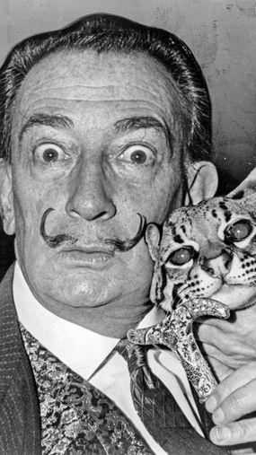 Salvador Dali, exhumed