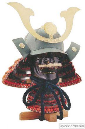 Full-sized reproduction of Oda Nobunaga's battle helmet