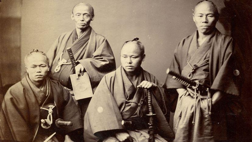 samurai from the Satsuma clan